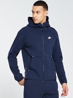 39989a3354ef Nike Sportswear Tech Fleece Full Zip Hoodie - Obsidian