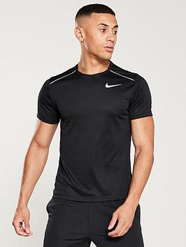 eaef9117fe6ef Nike Dry Miler Running T-shirt | littlewoodsireland.ie