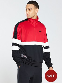 d6a5dbffd29911 Nike Sportswear Air Half Zip Jacket - University Red ...