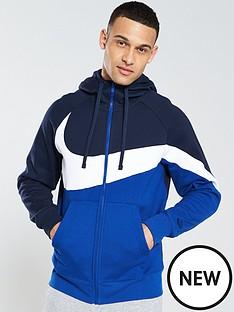 nike-sportswear-statement-swoosh-fleece-full-zip-hoodienbsp--obsidian