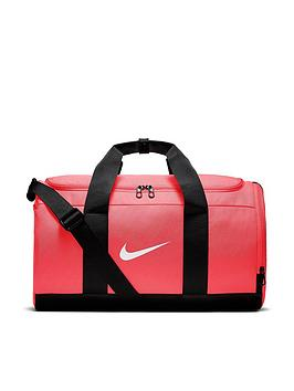 Nike Team Duffel Bag - Pink Black  7c7d45577907