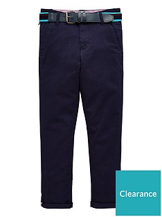 98d2ba42a Baker by Ted Baker Boys Belted Chino Trousers