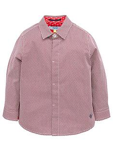 8818046ce5515 Baker by Ted Baker Boys Geo Long Sleeve Shirt
