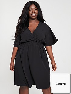 v-by-very-curve-kimono-sleeve-wrap-dress-black