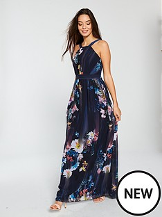 little-mistress-floral-print-chiffon-maxi-dress-multinbsp