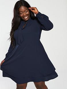 junarose-curve-kasiuz-above-the-knee-dress-navy