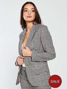vero-moda-cheerful-check-blazer