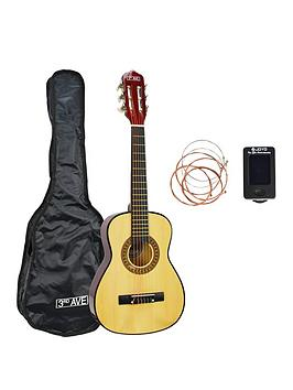3rd-avenue-3rd-avenue-14-size-classical-guitar-pack-with-bag-tuner-strings-and-online-lessons