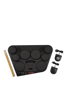 yamaha-yamaha-dd75-digital-drum-system-with-2-pedals-and-wooden-drum-sticks