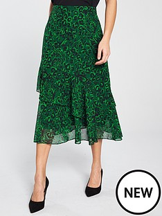 whistles-jungle-cat-print-midi-skirt