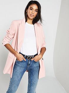 v-by-very-double-breasted-textured-blazer-blush