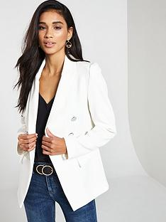 v-by-very-double-breasted-blazer-ivory