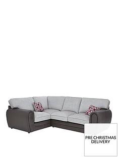 moreno-faux-snakeskin-and-fabric-left-hand-corner-group-standard-back-sofa