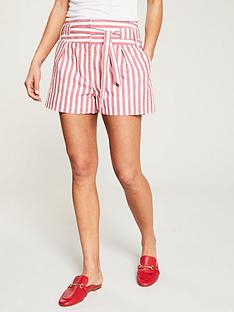 v-by-very-stripe-linen-shorts