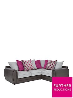 moreno-faux-snakeskin-and-fabric-right-hand-corner-chaise-scatter-back-sofa