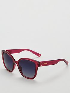polaroid-polaroid-transparent-pink-blue-lens-square-sunglasses