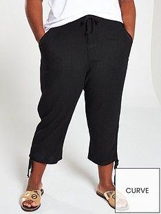 v-by-very-curve-linen-crop-trouser