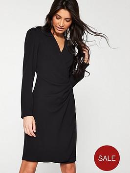 v-by-very-formal-wrap-tunic-black