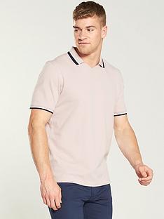 ted-baker-flat-knit-polo-shirt-light-pink