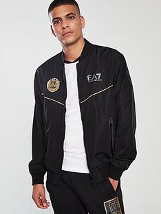1fc1f69552519 EA7 Emporio Armani Archive Zip Through Jacket - Black