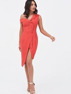 lavish-alice-one-shoulder-button-detail-tailored-wrap-dress-scarlet-red