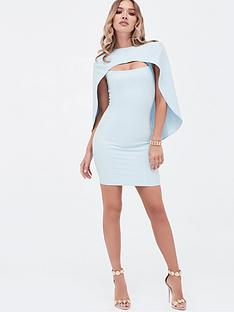 lavish-alice-cut-out-mini-cape-dress-dusty-blue