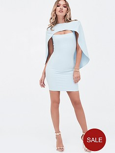 lavish-alice-cut-out-mini-cape-dress-dusty-blue