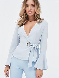 lavish-alice-lavish-alice-statement-eyelet-detail-wrap-top-with-flute-sleeve