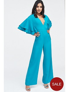 lavish-alice-exaggerated-double-frill-sleeve-wide-leg-jumpsuit-jade-green
