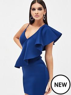 lavish-alice-lavish-alice-exaggerated-one-shoulder-frill-scuba-mini-dress
