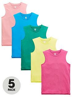 v-by-very-boys-5-pack-brightnbsptank-tops-multi