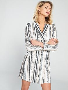 forever-unique-antares-sequin-blazer-dress-nude