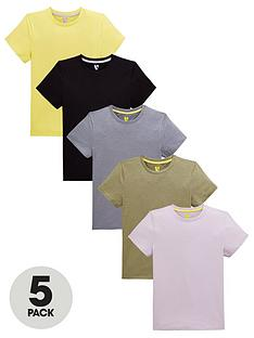 v-by-very-boys-5-pack-short-sleeve-t-shirts-multi