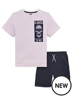 v-by-very-boys-short-sleeve-skull-sweat-top-amp-shorts-set-lilac