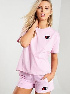 champion-crew-neck-crop-t-shirt-pink