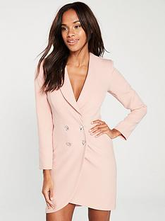 river-island-tuxedo-dress-pink