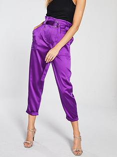 river-island-river-island-satin-peg-trouser-purple