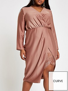 ri-plus-ri-plus-drape-front-lace-hem-midi-dress-blush