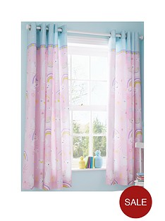 catherine-lansfield-llama-corn-eyelet-curtains