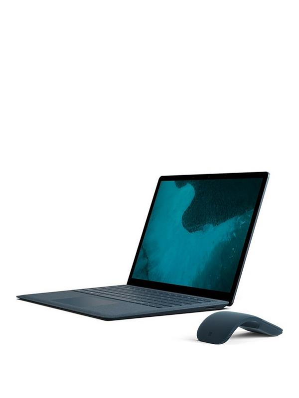 Surface Laptop, Intel® Core™ i5 Processor, 8Gb RAM, 256Gb SSD, 13 5 inch  Laptop with Optional Microsoft Office 365 Home - Cobalt Blue