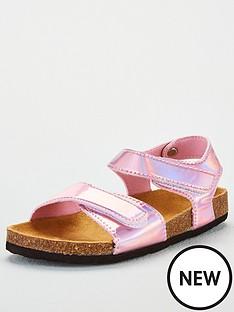 joules-girls-tippytoes-metallicnbspsandals-pink