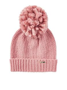 river-island-chunky-beanie-hat-pink