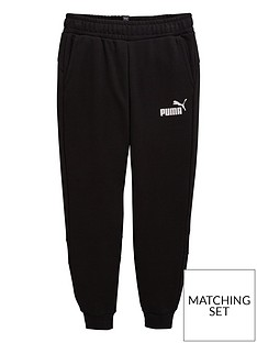 97bf9b6b Puma Older Boys Amplified Sweat Pants - Black