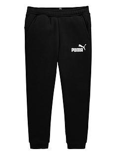 puma-older-boys-slim-fleece-sweat-pants-black