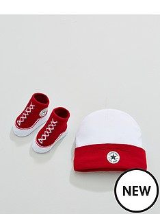 converse-baby-hat-amp-bootienbspset-red