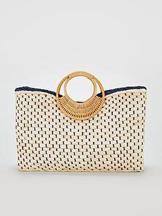 v-by-very-bracelet-handle-basket-weave-bag-natural
