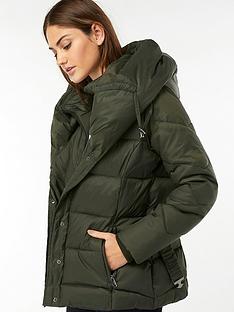 monsoon-laurel-belted-shawl-short-padded-coat-dark-green