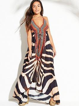 forever-unique-fleur-zebra-print-beach-dress-animal