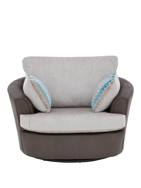 callunanbspfabric-swivel-chair