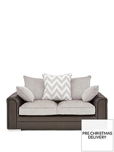 sansa-faux-snakeskin-and-fabric-2-seater-scatter-back-sofa